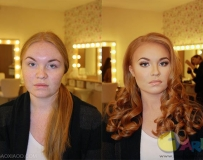 不会化妆的女人没有未来。。。