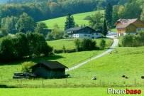 瑞士春天乡村美景