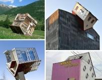 令人难以置信的倒置房子
