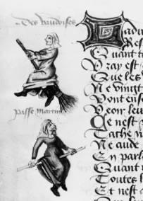 为什麽巫婆都骑扫把?西方中世纪的性别印象、医药發展、教廷政治与猎巫运动