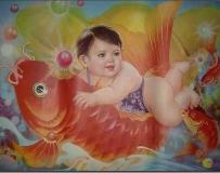 从老年画看—新中国可爱的儿童娃娃