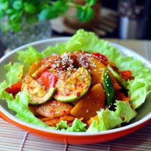 韩式大酱炒杂蔬