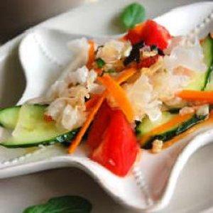 泰式拌银耳蔬菜色拉