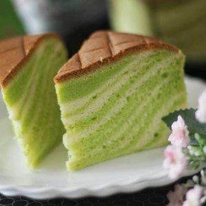 班兰相思蛋糕 (Pandan Ogura Cake)