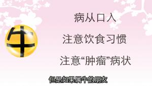 【牛- 健康】病从口入 留意瘤性疾病