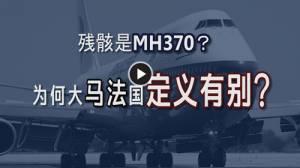 残骸是MH370的?为何大马法国定义有别?(6/8/15)