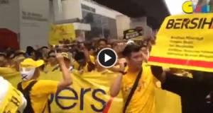 【BERSIH 4.0 现场直击】2PM:黄潮持续升温 高喊Bersih口号!