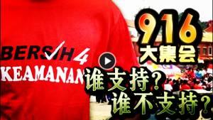 916大集会,谁支持?谁不支持?(10/9/15)