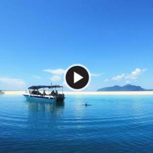 《仙本那军舰岛》海天一色的美景 世界级的潜水天堂
