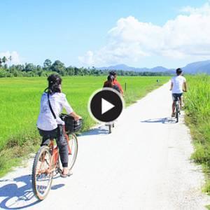 《浮罗山背骑脚车》槟城的骑车乐园