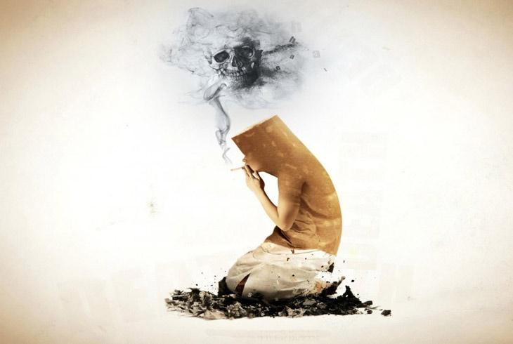 吸烟人不仅伤肺,小心脑萎缩!