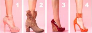 哪双鞋子看起来更顺眼?测出你是怎样的女生
