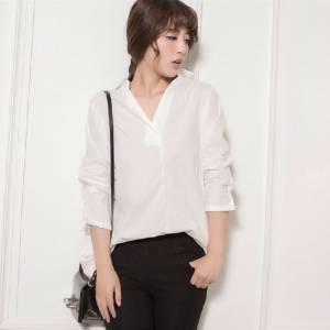 5招令白衬衫洁白不变形