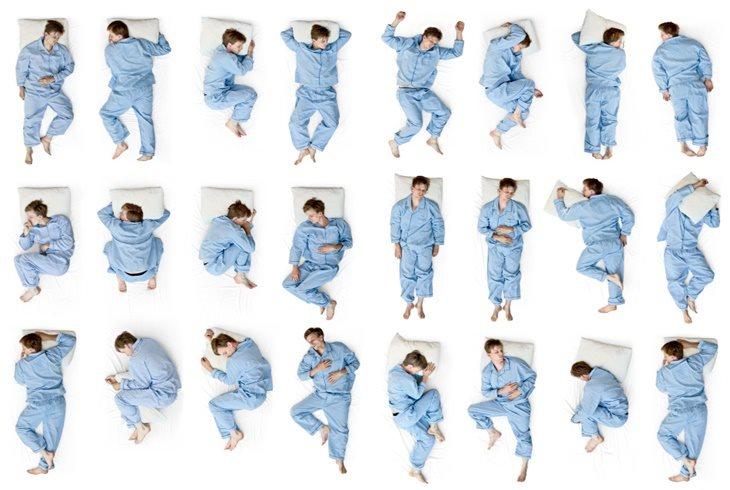 你知道吗?睡姿可是会影响健康,适当的睡姿才能保健身心!