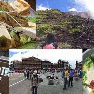 攻上日本富士山!吃吃喝喝就是爬山的动力!
