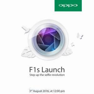 OPPO F1s 將於8月3日在印度发布!