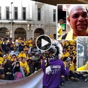 【Bersih 5.0集会】民众:人民要清醒 国家要清理!