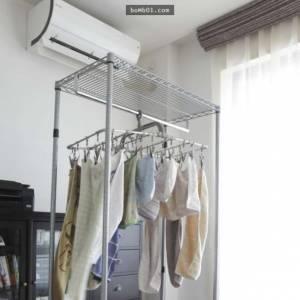 室内晒衣 小心气喘肺部细菌感染!
