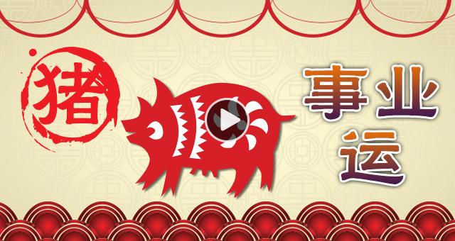 【猪-事业运】工作转换机会高 驿马守护多跑动