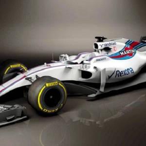 倒数F1新赛季 威廉姆斯率先公布战车