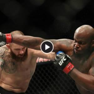 UFC选手神速KO对手 原因竟是肚痛赶着去厕所!