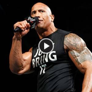 The Rock意外重返WWE擂台,却只打了一通电话......