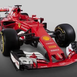 法拉利新战车登场 全红设计尽显霸气