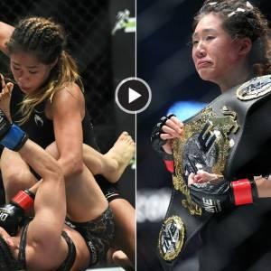 她是MMA史上最年轻冠军,她有一半新加坡血统
