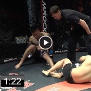 太罕见!MMA选手互相K.O,怎么分胜负呢?