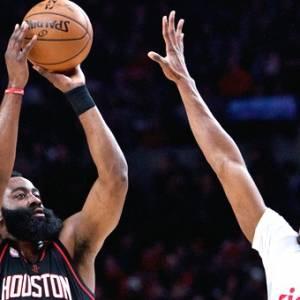 【NBA】刷新勇士三分纪录 火箭已中1080记