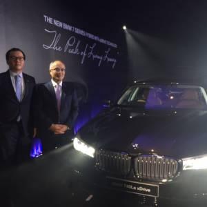 """全新油电混合车BMW 740Le xDrive""""驾到""""  上路价59万8千800令吉"""