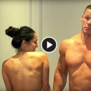John Cena夫妇兑现承诺,一起全裸出镜!