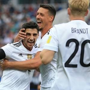 【联合会杯】3比2挫澳洲 德国旗开得胜