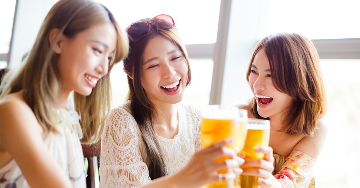 女性较易受酒精伤害
