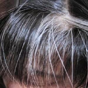 只要动一动小尾指,白发或会变青丝!