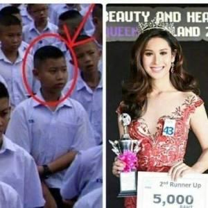 惊呆! 泰国变性人前后对比! 他们是同一个人吗?