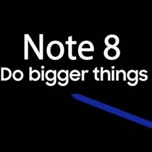 发布会倒数一周  三星Note 8完整配置确认!