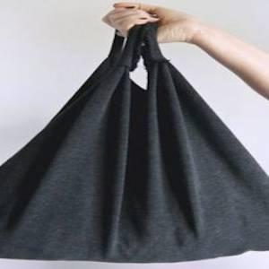 不穿的衣服别丢!我们教你把旧衣变身环保袋!