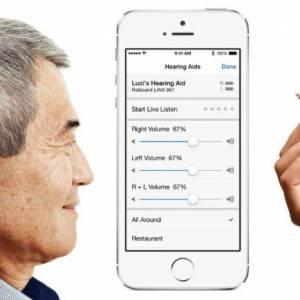 打造超级听力? iPhone可直接连接助听器、耳神经
