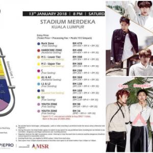《K-Wave 2》7组韩团来马!最低票价RM34 摇滚区RM478