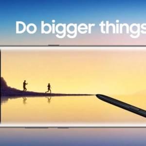 历代Note中最好战绩  Galaxy Note 8在韩销量火爆!