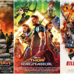 【电影好坏】《Only the Brave》VS《Thor: Ragnarok》VS《Killing Gunther》