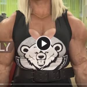 麒麟臂+大胸脯  这是男人还是女人?