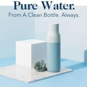 智慧水瓶帮你自动灭菌 不用洗也超干净!