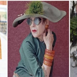 人老心不老 活到80岁也要像她们一样时尚!