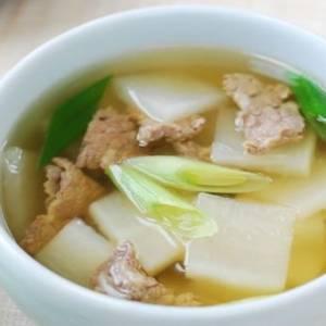 自制冬瓜排骨汤 为酷热的天气解暑吧!