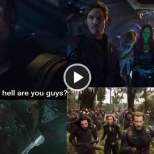 《复仇者联盟3》预告曝光新线索! 银河守护队也来了!