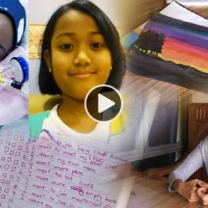 13岁的她有9大心愿  请给她机会活下去!