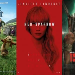 【电影好坏】《Peter Rabbit 》 VS 《Red Sparrow》 VS 《Tomb Raider》