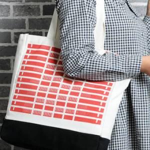 拿环保袋也可以很时尚!就看你如何搭配!